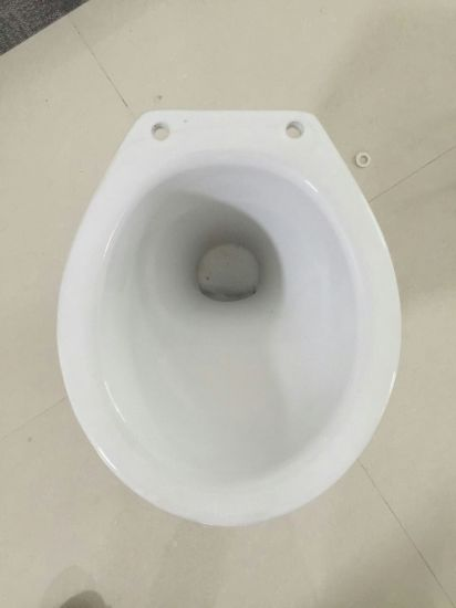 019 White Washdown S Trap Ceramic Pail Flush Toilet Bowl for Phillippine Market pictures & photos