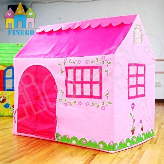 Princess Teepee Play Garden Doll House Kids Girl Tent Playhouse  sc 1 st  HENAN FINEGO AMUSEMENT EQUIPMENT CO. LTD. & China Princess Teepee Play Garden Doll House Kids Girl Tent ...