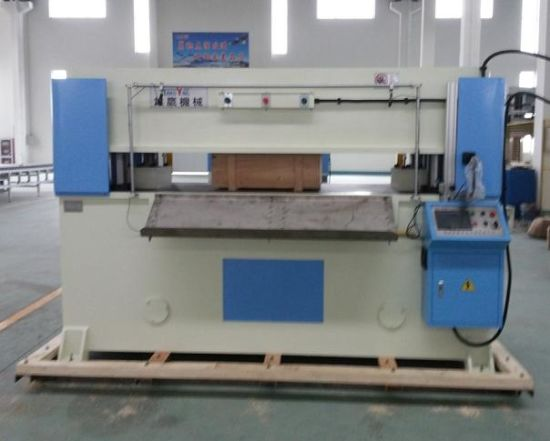 60t Hydraulic 4-Column Plane Leather Cutting Machine pictures & photos