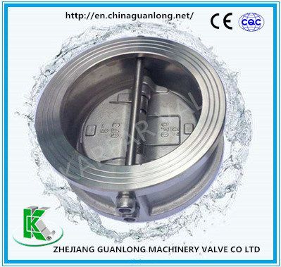 Ddcv Dual Plate Butterfly Swing Wafer Non Return Check Valve (H76X/H) pictures & photos