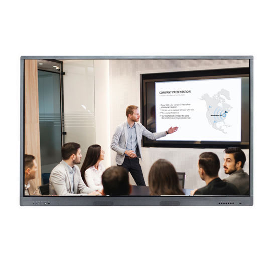 TFT LCD touch screen whiteboard 98inch for presentation