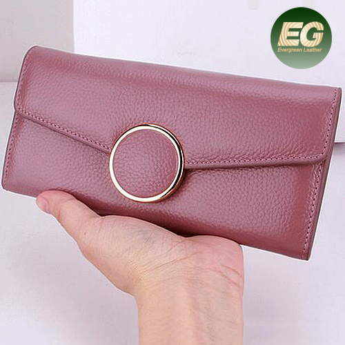 New Design Fashion Multifunctional Purse Genuine Leather Long Style Ladies Purses Women Card Wallet Al331 pictures & photos