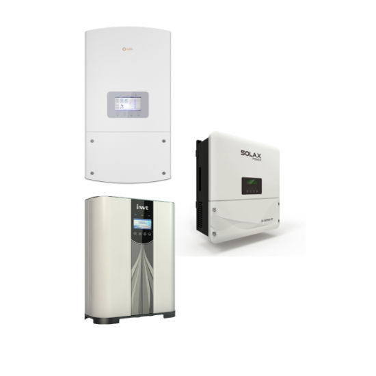 off Grid 40kw 50kw 60kw Solar Power System with Huawei Sungrow Ginlong  Inverter
