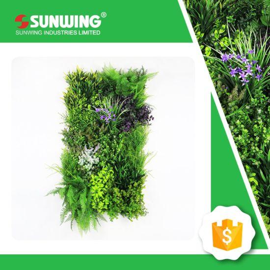 garden mat. customized outdoor artificial fern grass mat for vertical garden wall