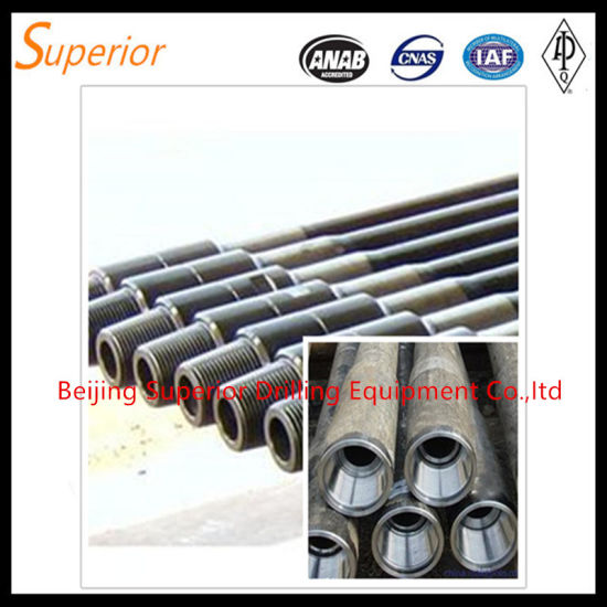 Oil Drill Pipe Drill Rod Drilling Pipe HDD Drill Pipe pictures & photos