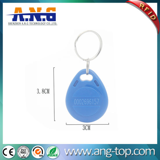 China 13 56MHz Durable Intelligent Access Control ABS RFID Key Fob