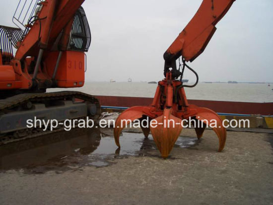 Hydraulic Grab Bucket with Orange Peels pictures & photos