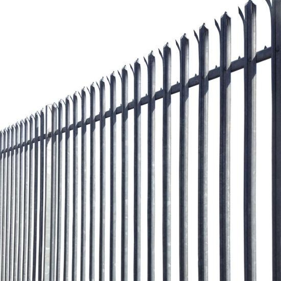 Amazon Ebay's Choice Powder Coated or Galvanized W D Section Palisade Security Fence (PSF)