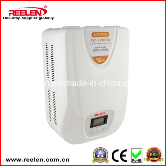 10000va New Style Wall Mounted Servo Motor Full Auto AC Voltage Stabilizer Tsd-10000va pictures & photos