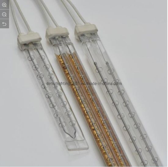 Medium Wave Twin Tube Infrared Lamp for Heat Element