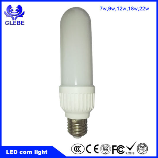 E27 E26 LED Bulb Light LED Corn Light 7W 12W 18W 22W LED Lighting Bulb pictures & photos