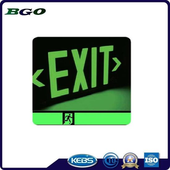 Safety Guide Green Tape Luminescent Film pictures & photos