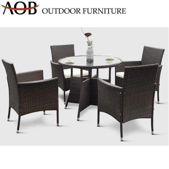Modern Chinese Outdoor Rattan Chairs Garden Patio Dining Table Furniture Set China Outdoor Furniture Dining Furniture Made In China Com