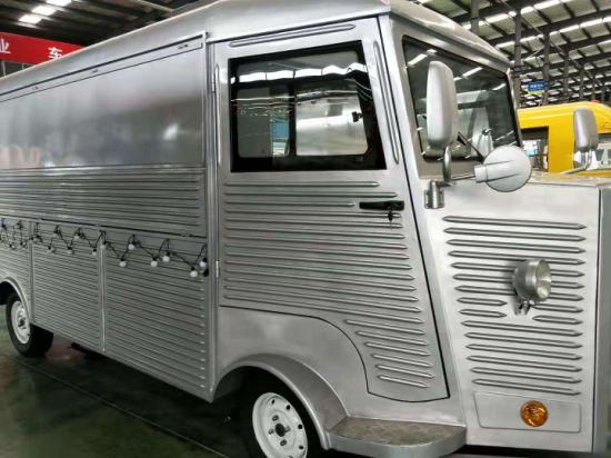 2019 China Factory Supply Citroen Vintage H Van High-Speed Fryer Noodle Citroen Mobile Food Truck Trailer Van