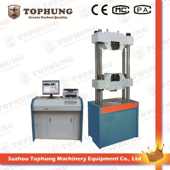 High Quality Computer Controlled Electro-Hydraulic Servo Tensile Testing Machine