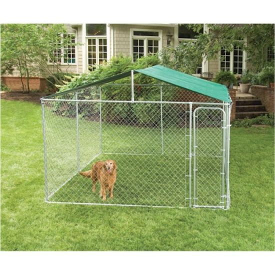 China Manufacturer Wholesale Commercial Chain Link Dog Kennel