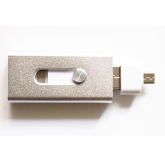 Free Sample Metal OTG USB Flash Drive for iPhone (TL)