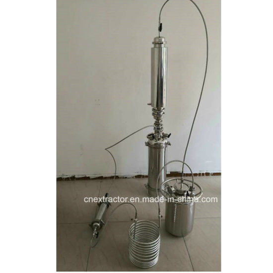 2lb- 4lb Dewaxing Column Bho Active Closed Loop Extractor with Recovery Tank