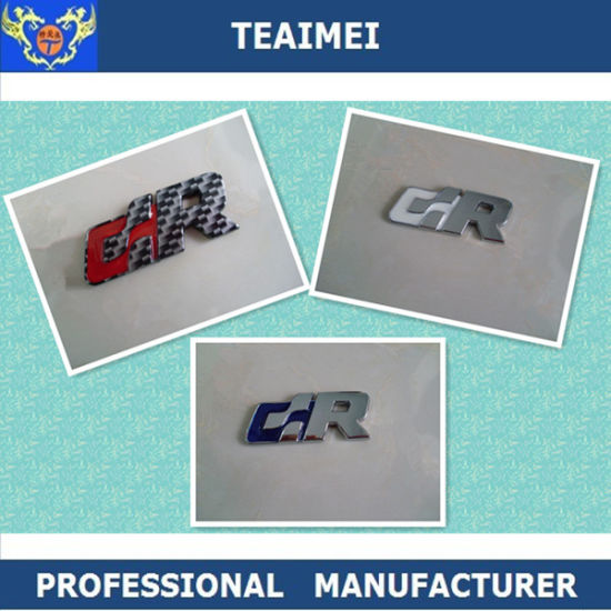 China Car Logo Letter Badges Car Chrome Badges Luxury Car Emblems