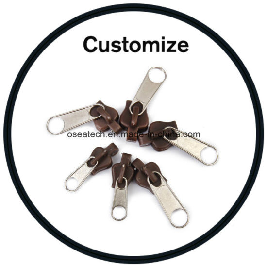 China Personalized Zipper Pulls China Locking Zipper Pull Zipper
