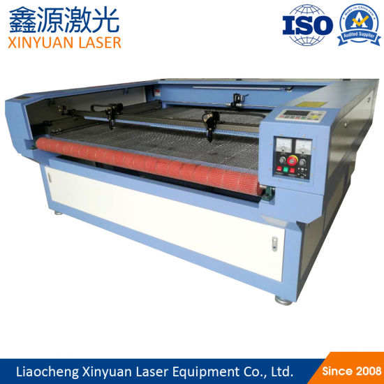 Non Woven Fabric Felt Automatic Feeding and Cutting Machine Fast Laser Cutting Equipment