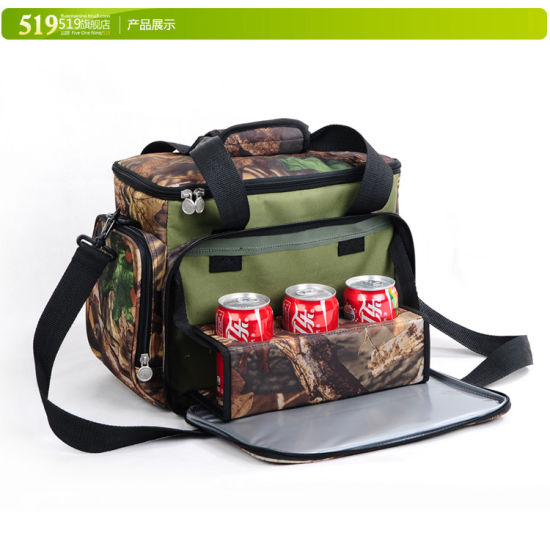 china camouflage picnic bag insulation bag ice pack outdoor travel