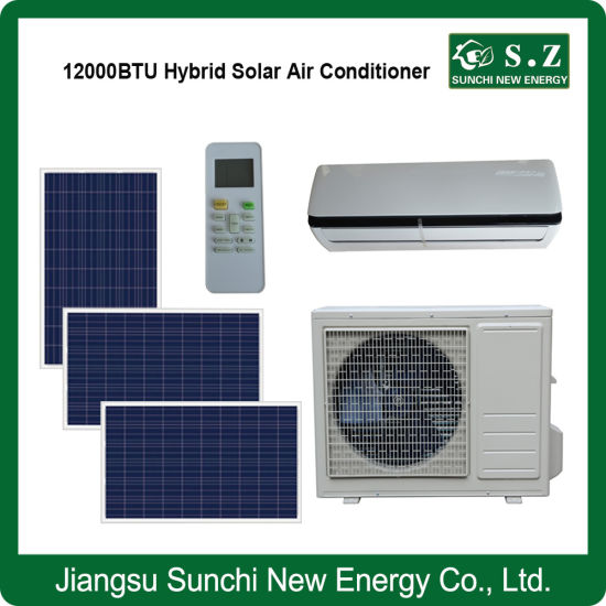 China Acdc Type Hybrid Room Use Split Air Conditioner Solar