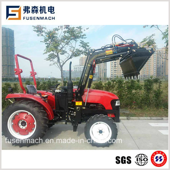 33.1kw 45HP Four Wheel Drive Small Farm Tractor (E-MARK approved)