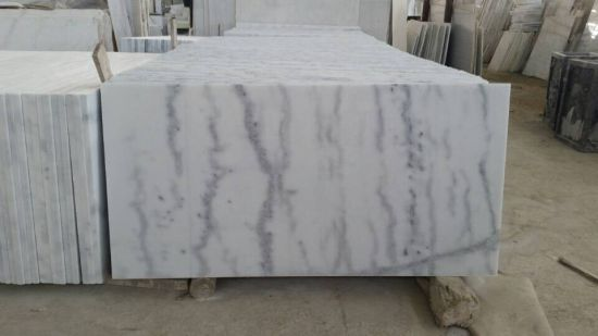 China Carrara White Marble Slabs for Flooring, Countertops (YY-MS8975) pictures & photos