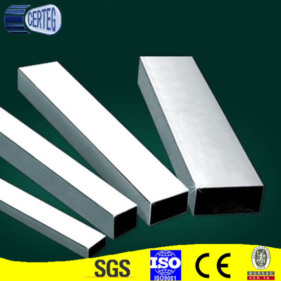 Hot sell stainless steel rectangular pipe