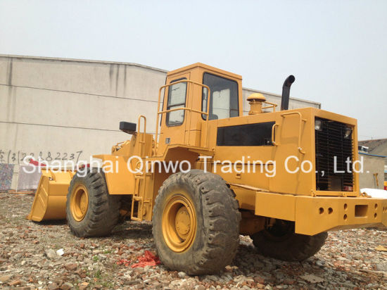 40hq-Container-Shipping 3304-Engine 5ton-Load 6-Cylinders Diesel-Engine Used Caterpillar 950e Wheel Loader pictures & photos