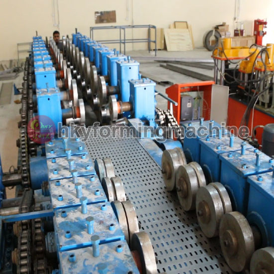 Cable Wire Bridge Roll Forming Machine