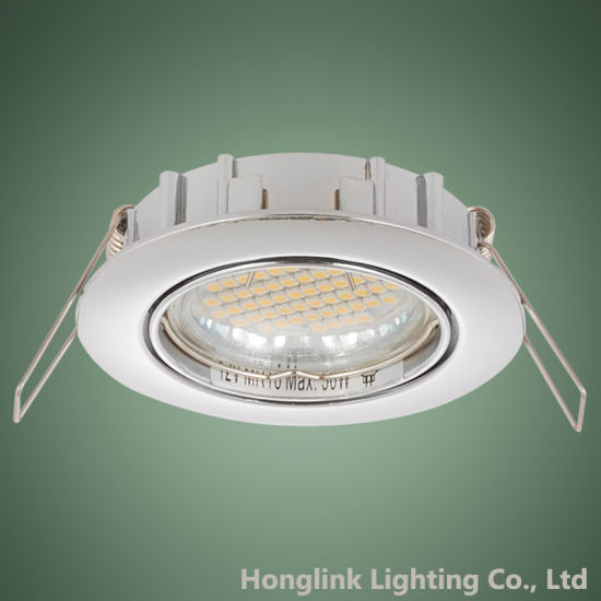 MR16 Die-Cast Aluminum Rotatable Recessed Ceiling Light Fixture LED Downlight pictures & photos