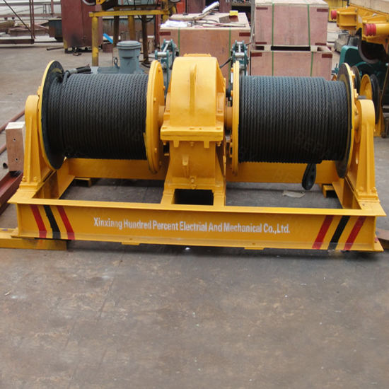 High Efficiency Electric Double Drum with Large Rope Capacity
