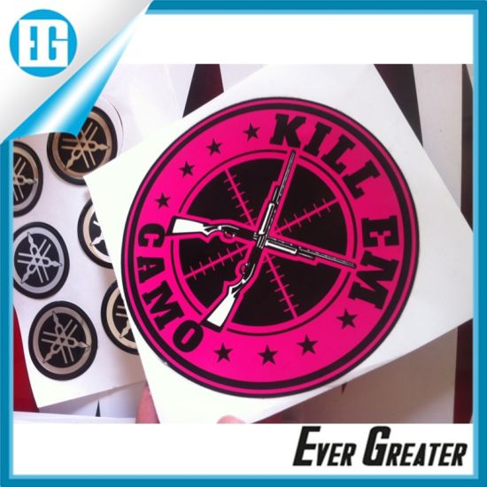 China Custom Decorative Vinyl Decal Stickers For Home Bumper
