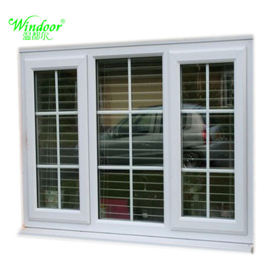 China 2018 Latest Window Grill Design UPVC Window