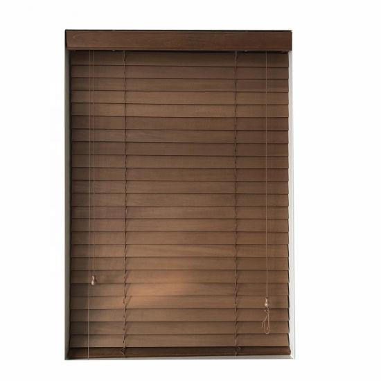 China Vertical Blinds Wooden Horizontal Blinds Slats For Bedroom