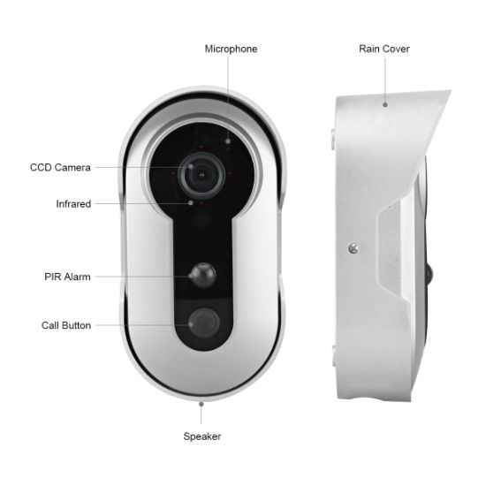 Home Security PIR Motion Smart WiFi Door Phone System Ring Doorbell Video Cameras Wireless pictures & photos