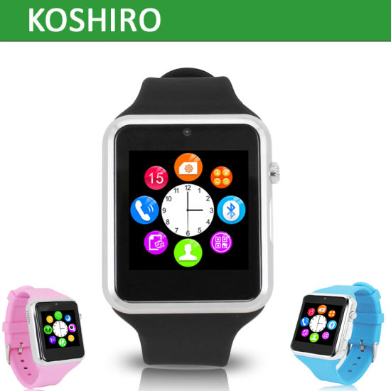 Smartwatch Watch Mobile Phone with Bluetooth SIM Card pictures & photos