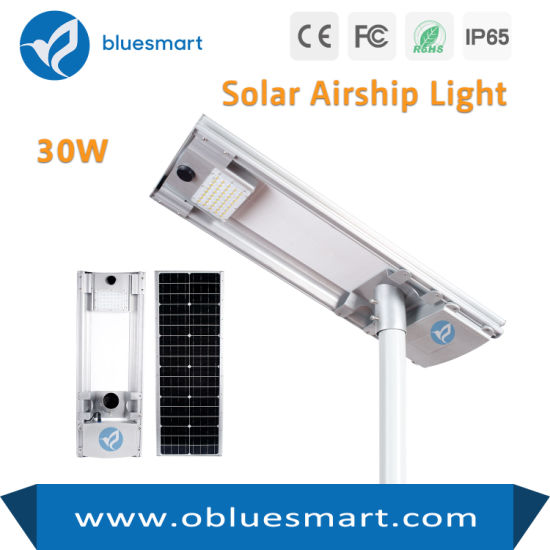 4500lm IP65 Integrated Solar LED Street Light Outdoor Lamp
