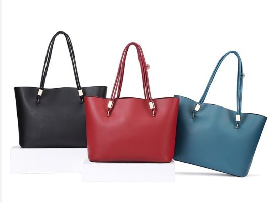 2019 New Style OEM Fashion Designer/Shoulder/PU/Leather/Tote/Women/Lady/Colorful Handbag with Long Strap China Factory Wholesale