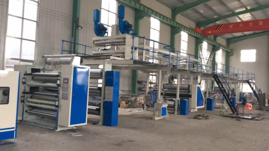 China 5 Ply Corrugated Paperboard Production Line Auto Plant