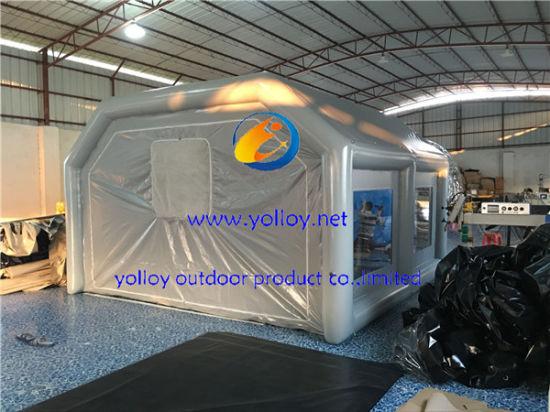 Inflatable Soda Sand Blasting Tent & China Inflatable Soda Sand Blasting Tent - China Inflatable Spray ...