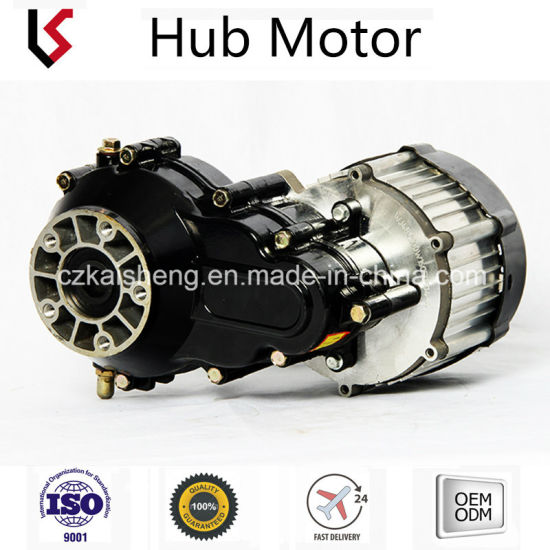 Bldc Hub Motor With Permanent Magnet 24v 72v 350w 1000w Customization Size Electric Vehicle Car High Torque Motors