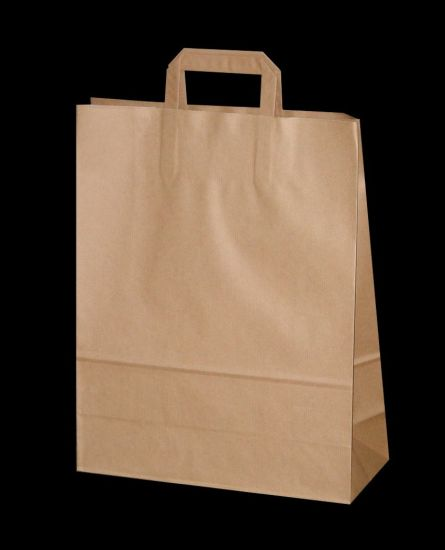 Kraft Food Paper Shopping Bags pictures & photos
