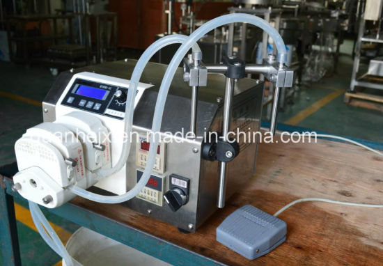 Small Essential Oil Filling Machine with Peristaltic Pump Filling pictures & photos