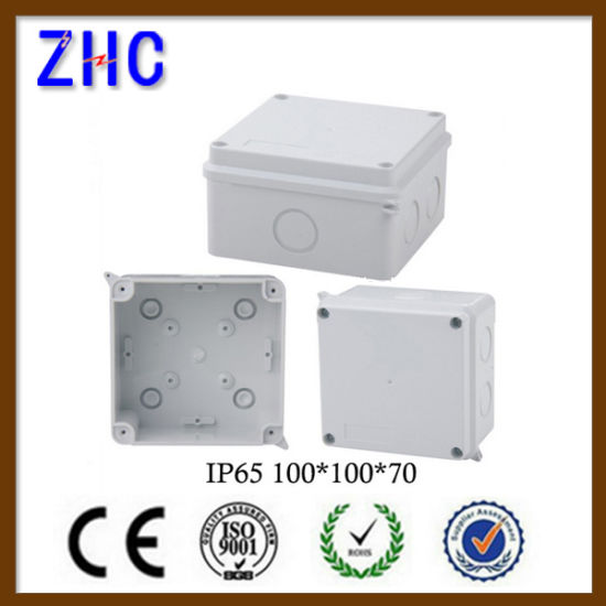 100 70 Waterproof Outdoor Pvc Electrical Plastic Wiring Connection Junction Box Pictures