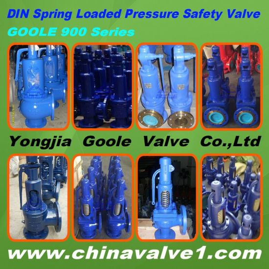 DIN 901/ 902 Spring Loaded Full Lift Safety Valve pictures & photos