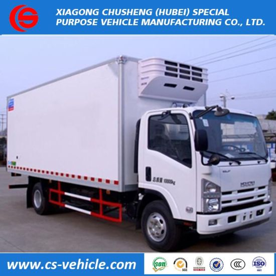 9dff2c6f32 China Cheap Price 5 Tons Isuzu Refrigerated Ice Cream Truck for Sale ...