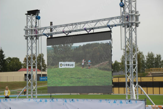 P5.95 Outdoor Full Color LED Display Screen for Sports Perimeter pictures & photos